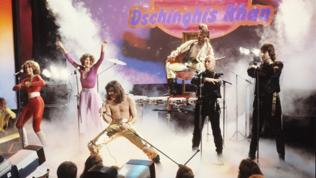 Dschinghis Khan bei einem Auftritt 1979