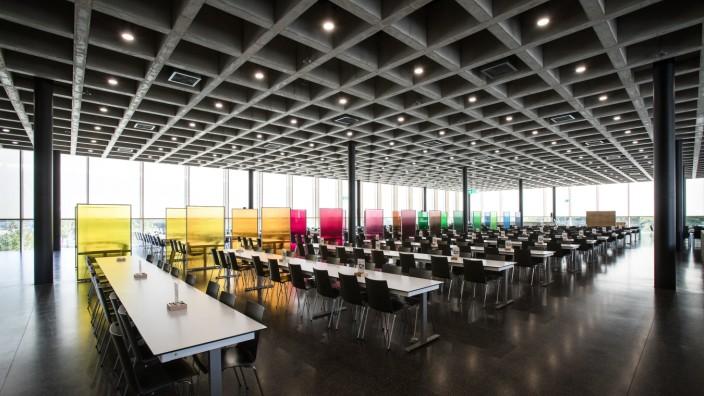 Garching, TU-Campus: Einweihungsfeier der neuen Mensa