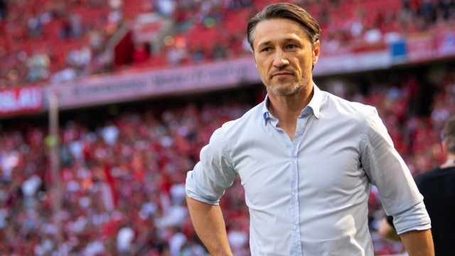FC Bayern: Trainer Niko Kovac beim Spiel gegen den FSV Mainz 05
