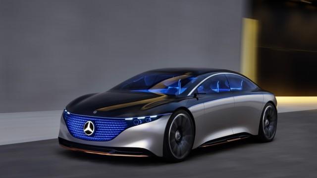 Mercedes-Benz Vision EQS 2019  Mercedes-Benz Vision EQS 2019