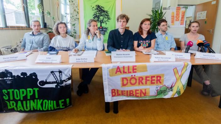 Akteure der Klimabewegung zu Räumung Hambacher Forst