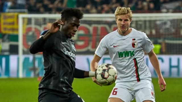 Augsburg Germany 24 11 2018 1 Bundesliga 12 Spieltag FC Augsburg Eintracht Frankfurt Danny; Fußball Bundesliga - Martin Hinteregger
