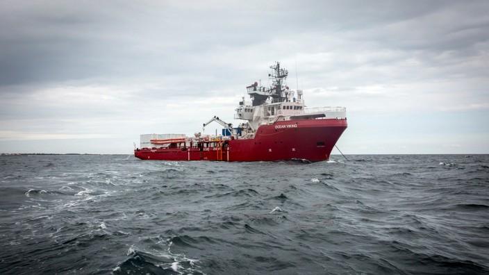 "Rettungsschiff ´Ocean Viking"""