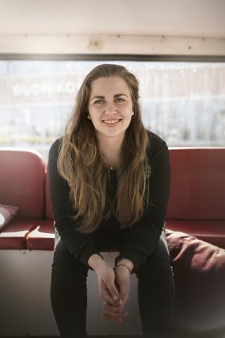 Rebecca Freitag, UN-Jugenddelegierte für nachhaltige Entwicklung