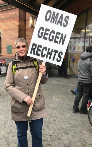 Ulrike Wübbena, Omas gegen Rechts, Bremen