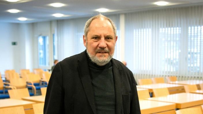 Siegfried Mauser vor der Verhandlung am Dienstag in Karlsruhe.