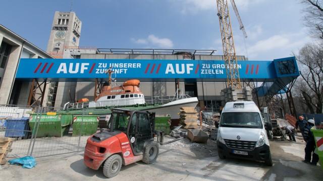 Sanierung des Deutschen Museums in München, 2018