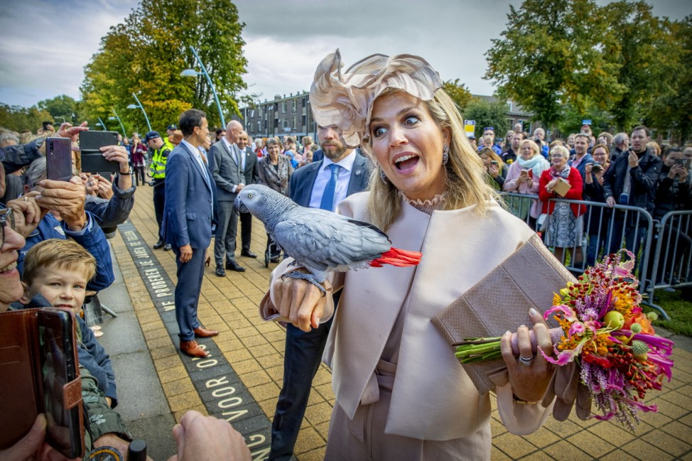 King Willem-Alexander Of The Netherlands and Queen Maxima Of The Netherlands Visit Drenthe Province