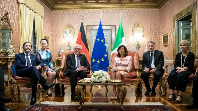 Bundespräsident Steinmeier in Italien