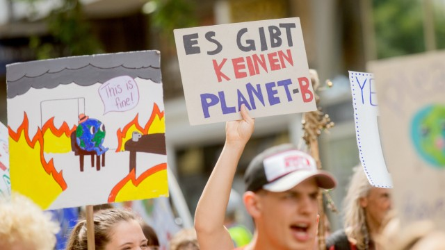 Globaler Klimastreik von 'Fridays for Future'
