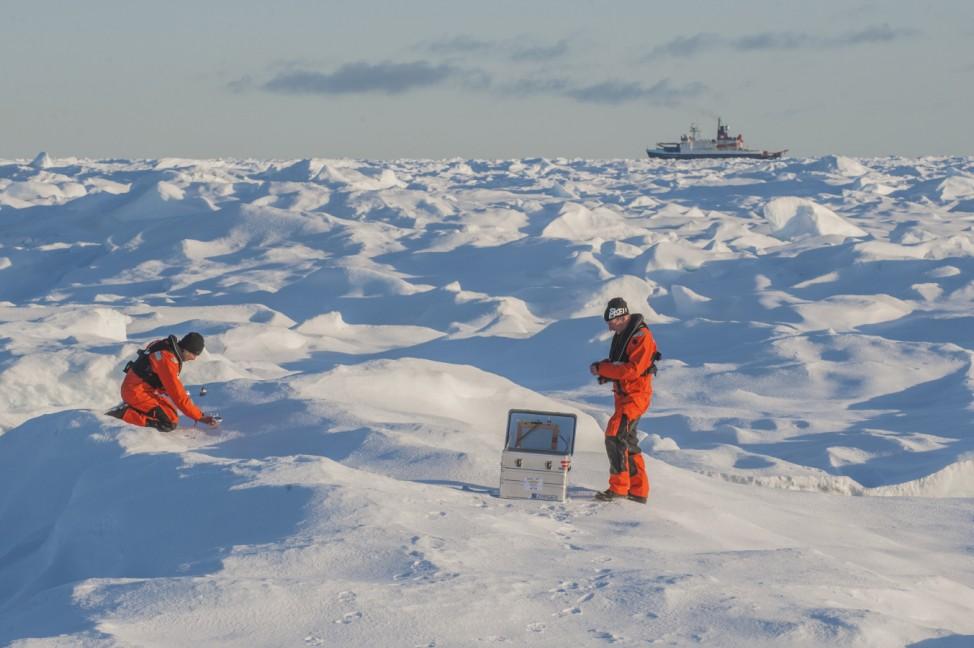 Polarstern ROBEX Expedition Arktis