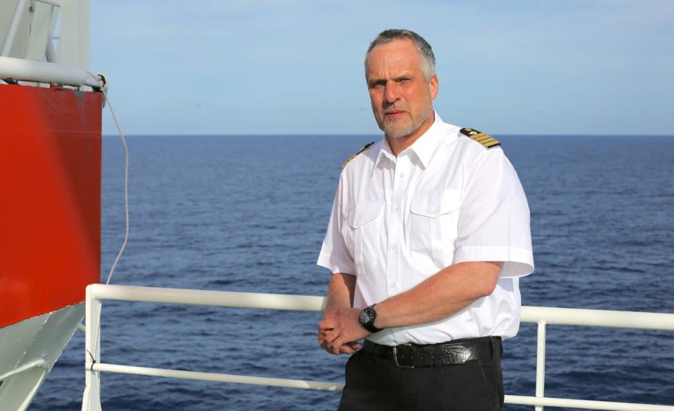 Polarstern Kapitän Stefan Schwarze
