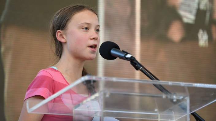 Greta Thunberg in New York