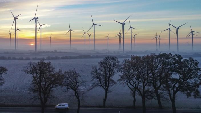 Windkraft: Windräder in Brandenburg