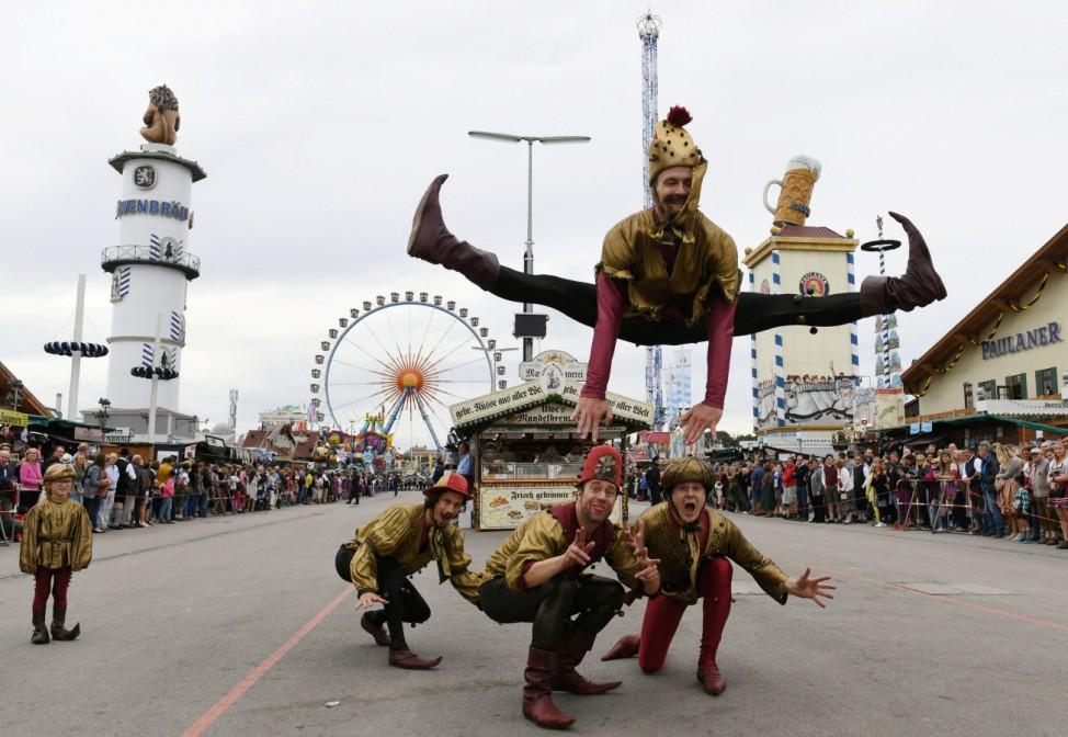 Annual Munich Oktoberfest parade