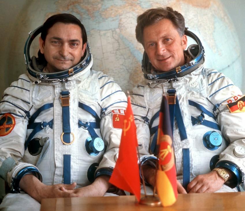 Kosmonauten Bykowski und Jähn