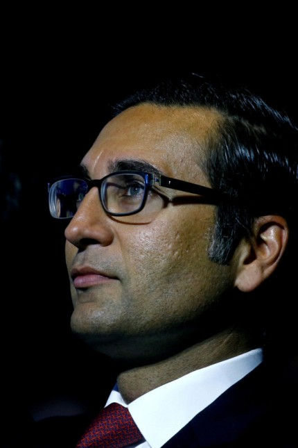 FILE PHOTO: Khan, former CEO International Wealth Management of Swiss bank Credit Suisse attends the company's annual shareholder meeting in Zurich