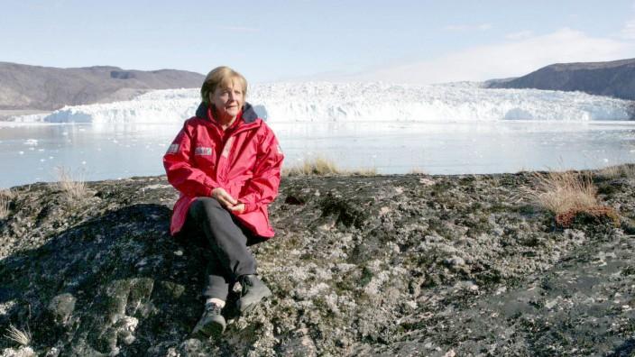 2007 Bundeskanzlerin Merkel besucht Grönland