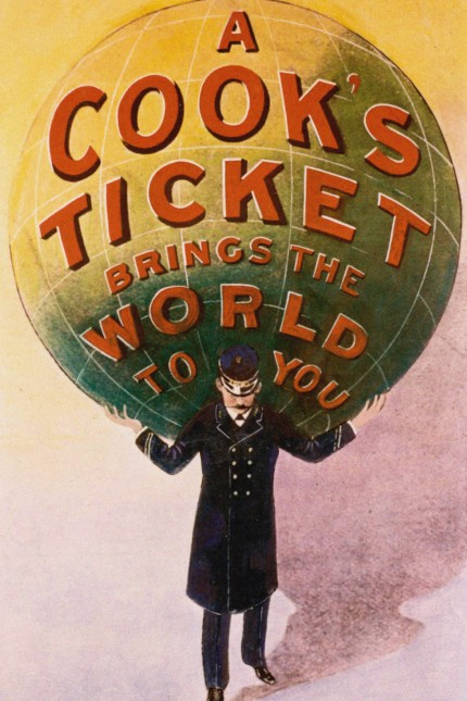 Advertising Poster of the Thomas Cook travel agency. Artist: Anonymous
