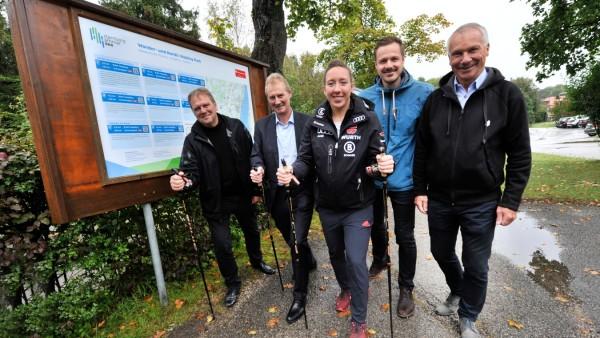 Feldafing: Nordic Walking Spazierwege