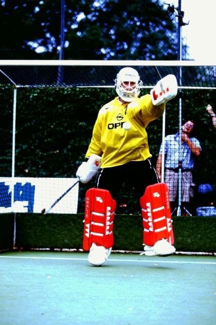 Nils Kowalczek aus Gilching, ehemaliger Hockey-Nationaltorwart