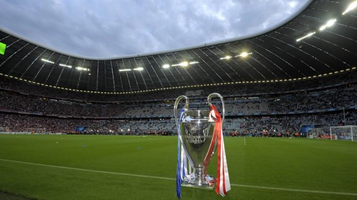 Finale der Champions League 2012 in der Allianz-Arena in München