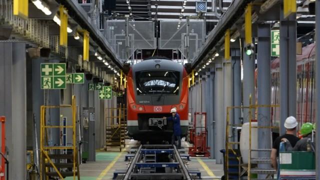 Auf dem Prüfstand: Der Betrieb der Münchner S-Bahn hat derzeit einige Wartungsarbeiten nötig - genau wie dieser Zug.