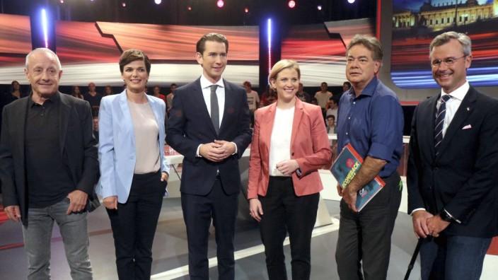 Wahlkampf in Österreich