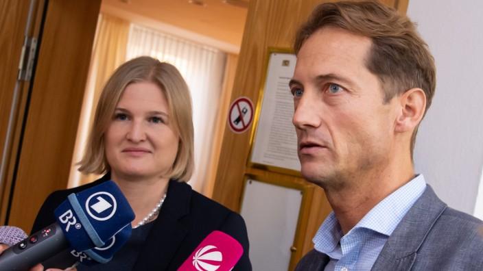 Fraktionssitzung der AfD im bayerischen Landtag