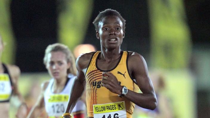 Yellow Pages Series 1 STELLENBOSCH SOUTH AFRICA MARCH 20 Annet Negesa in the women 800m final du; Annet Negesa
