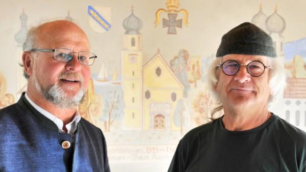 Tutzing: interviewtermin mit Peter Brummer und Gerold Jilg