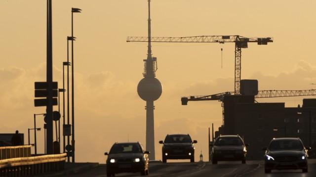 Berlins Wirtschaft wächst durch Baubranche