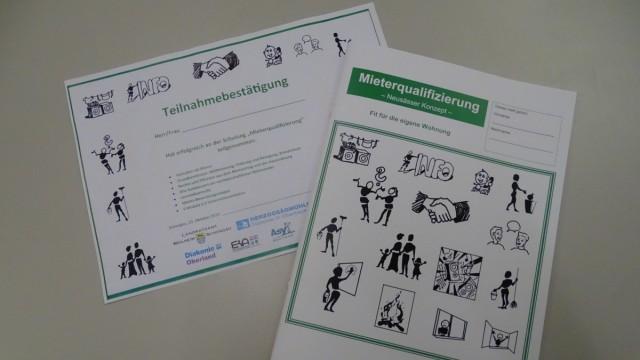 Sozialprojekt: Am Ende des Kurses liegt für die Teilnehmer ein Zertifikat bereit.