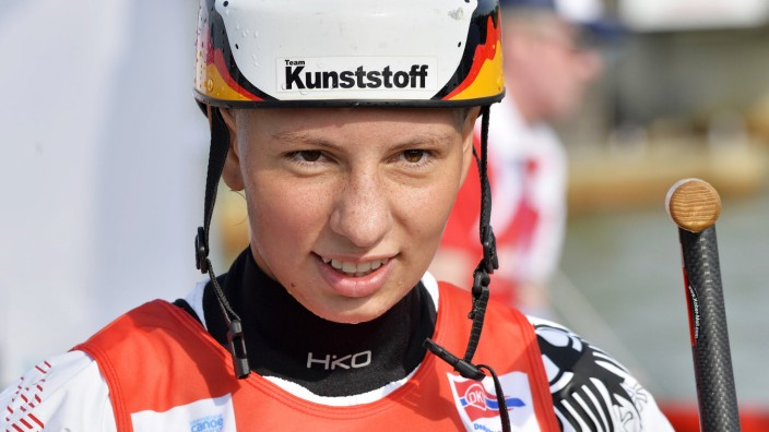 ICF Kanu Weltcup 4 in Markkleeberg Deutschland Final Läufe 01 09 2019 Andrea Herzog GER Cana