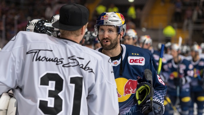 Eishockey, DEL, EHC Red Bull München -  Thomas Sabo Ice Tigers Nürnberg