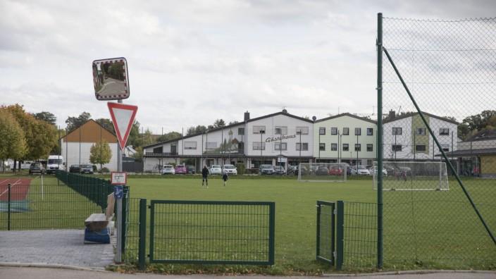 Bolzplatz Alling am Kindergarten