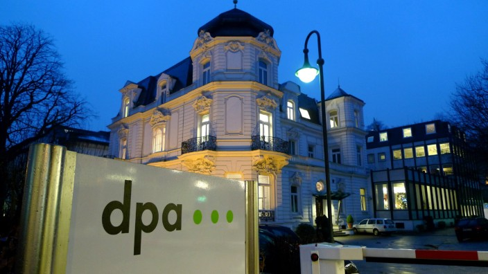 Zentrale der dpa Deutschen Presse-Agentur