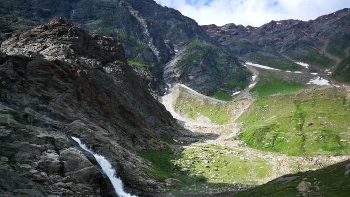 E5, Alpenüberquerung