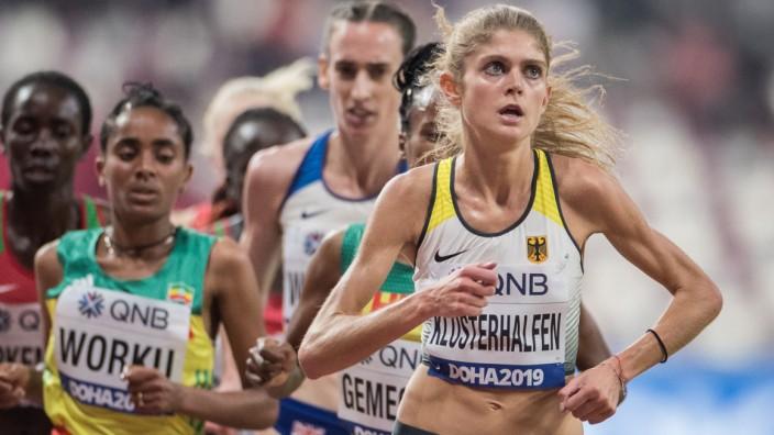 Konstanze Klosterhalfen bei der Leichtathletik-WM 2019