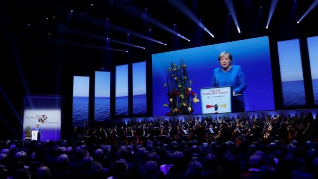 Germany celebrates 29th anniversary of reunification in Kiel