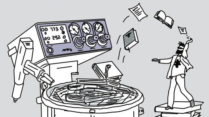 Die Manipulatoren: Illustration: Stefan Dimitrov