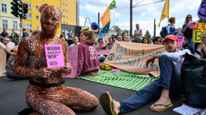 Umweltbewegung Extinction Rebellion