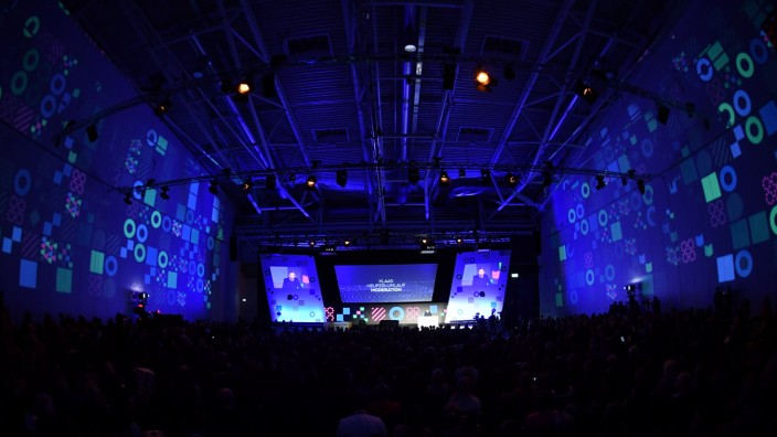 Die Medientage München fanden im Jahr 2019 vom 24. bis 26. Oktober statt.
