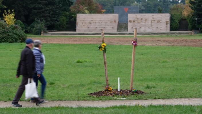 Gedenkbaum für NSU-Opfer in Zwickau abgesägt