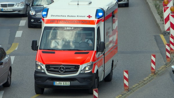 Rettungswagen in Stuttgart