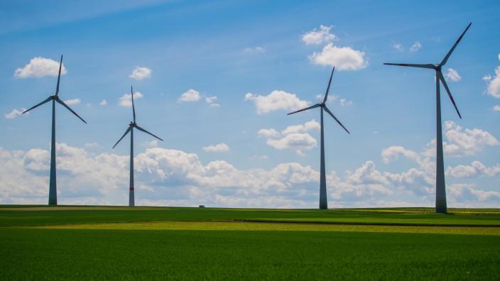 Windkraftanlagen in Mainz
