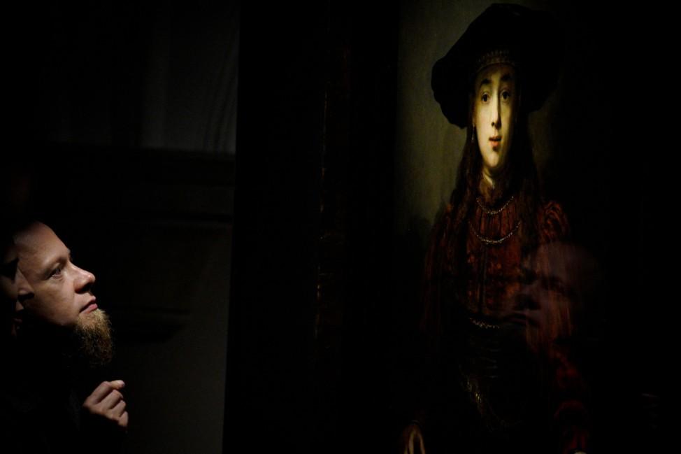 Von Angesicht zu Angesicht: Anlässlich des 350. Todestages des niederländischen Malers Rembrandt van Rijn findet im Warschauer Königsschloss eine große Ausstellung mit 36 Originalwerken statt.