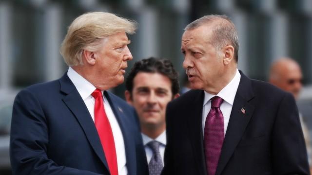T¸rkischer PrâÄ°sidialpalast: Erdogan-Trump-Treffen im November