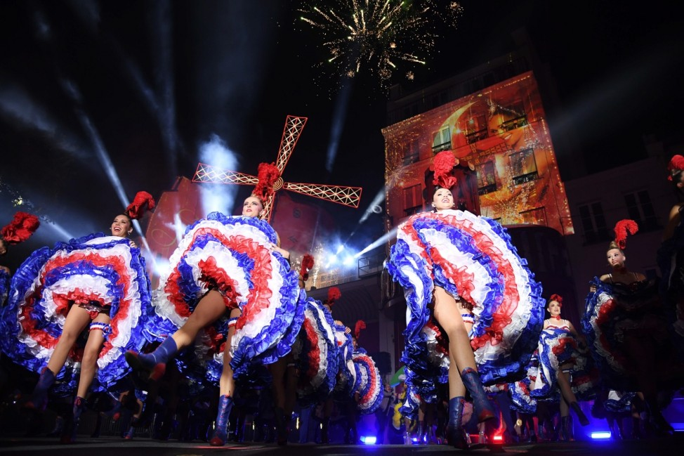 BESTPIX - The Moulin Rouge Celebrates Its 130 Anniversary