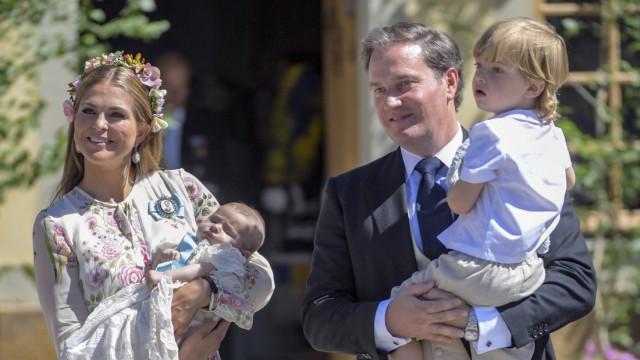 Prinzessin Madeleine von Schweden und Familie